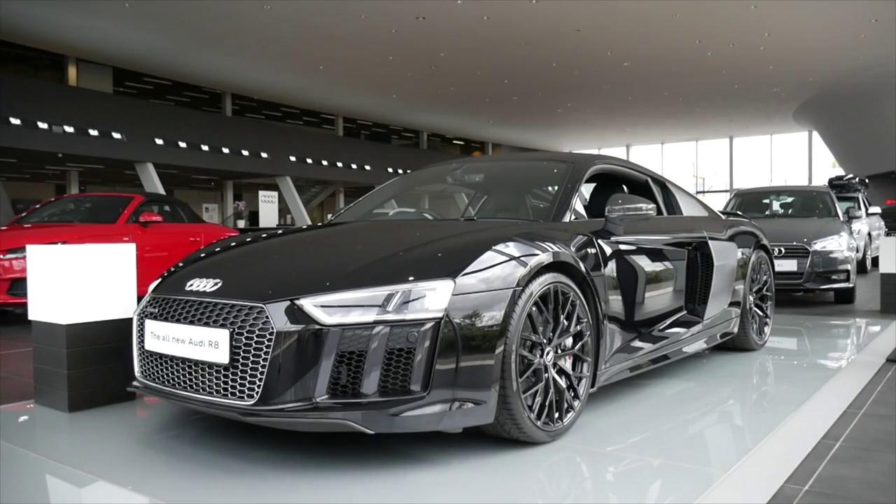 2017 Audi R8 V10 Plus - YouTube