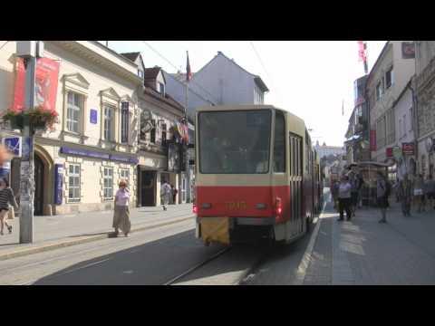 Raw Video: Shopping Street (Obchodná ulica), Bratislava, Slovakia