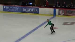 "Jason Brown ""Riverdance"" Glacier Falls Summer Classic 2013"