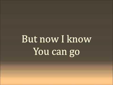 Let You Go   Katie Herzig (Lyrics)