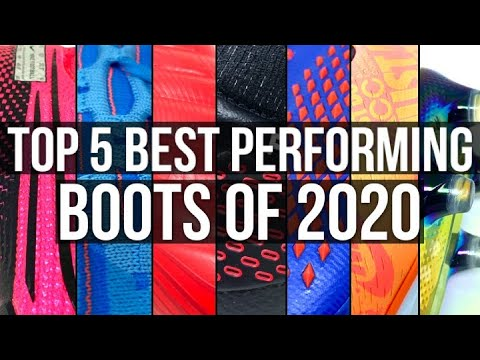 TOP 5 BEST PERFORMING FOOTBALL BOOTS OF 2020