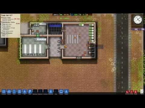 [翔麟]監獄建築師※Prison Architect※實況#1 第一批囚犯
