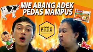 "Mie Abang Adek ""PEDES MAMPUS"" [BeeTalk Food Challenge Hot And Spicy]"