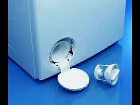 Почистить фильтр в стиральной машине самому