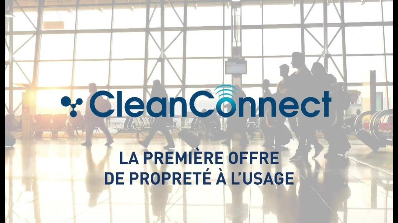 CleanConnect, présenté par Bernard Lacore, Directeur Général Délégué Propreté