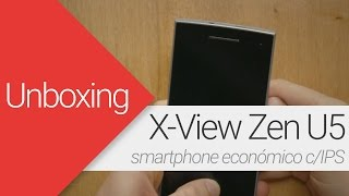 unboxing x view zen u5 en espaol