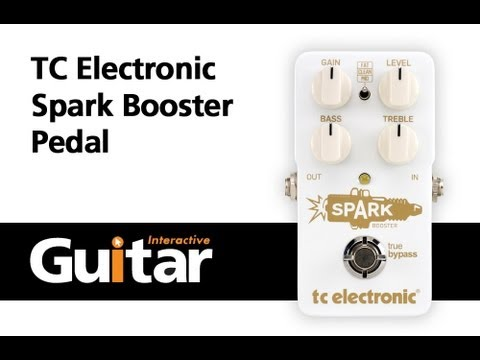 Tc Electronic Spark Booster Pedal Review Demo Featured In Guitar Interactive Issue 12