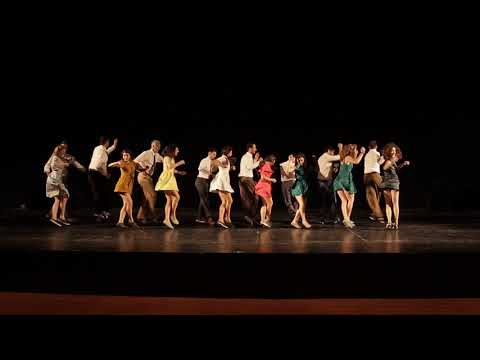 Advanced plus Lindy Hop - Graduation 2018