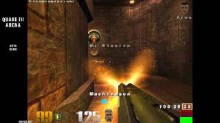 Quake III Arena / auto demo sequences / PC game 1999