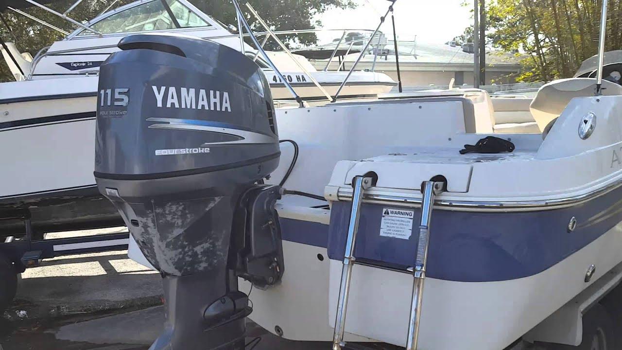 2005 Azure 210 Deck Boat Yamaha F115 4 Stroke