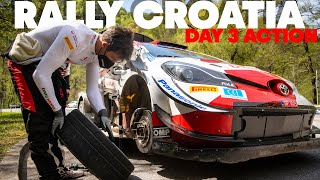 Rally Croatia: Decided On the Final Corner - Day 3 Highlights | WRC 2021