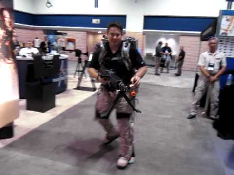 Lockheed Martin Human Universal Load Carrier (HULC) Biomechanical Exoskeleton at SOFIC 2012 2