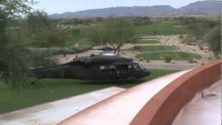 Whirlwind Golf Club - Blackhawk Takeoff And Flyby