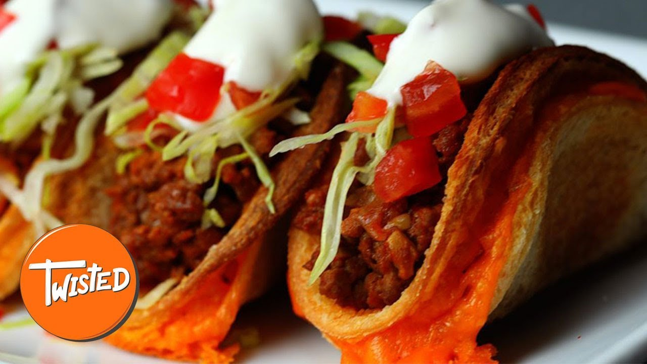Grilled Cheese Taco Recipe | Twisted