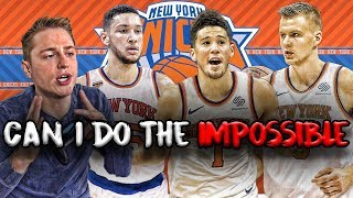 Can The Knicks Become A Dynasty In Just 5 Seasons? NBA 2K19 Rebuild