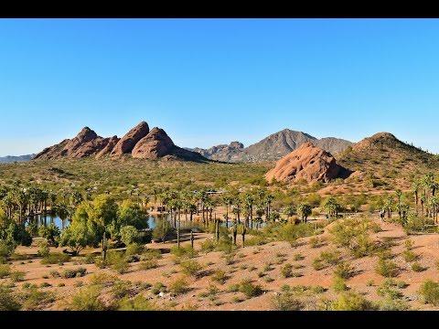 Papago Park in Arizona