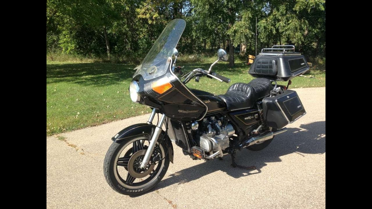 1980 honda gl1100 goldwing interstate sold youtube for 1980s honda motorcycles
