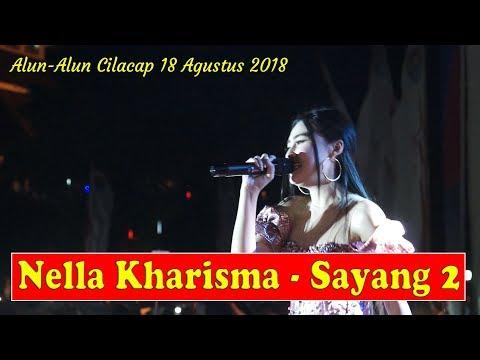 Nella Kharisma - Sayang 2 - OM Lagista Live Alun Alun Cilacap 18 Agustus 2018