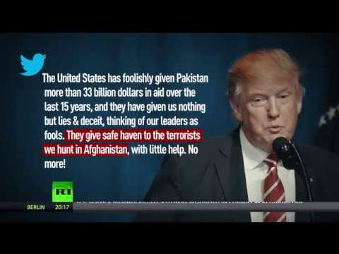 'Nothing but lies & deceit' in exchange for US billions: Trump blasts Pakistan in first 2018 tweets