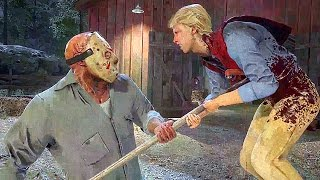 Repeat youtube video FRIDAY THE 13TH GAME Gameplay Jason Voorhees Kills Trailer
