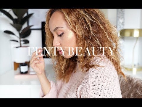 CHATTY FENTY BEAUTY FIRST IMPRESSIONS! | Samantha Maria