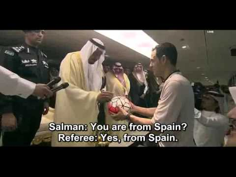 Saudi king Salman speaks English and Spanish .. Amazing!