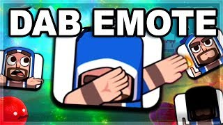 DAB EMOTE - Clash Royale