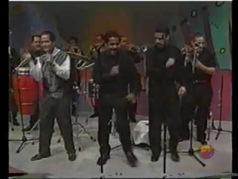 Frankie Ruiz en una de las ultimas presentaciones en TV