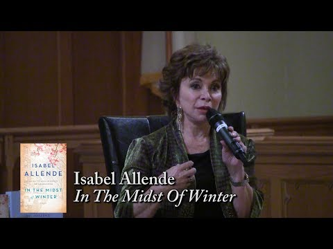 "Isabel Allende, ""In The Midst Of Winter"""