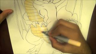 How to Draw a Dragon Quest Dragon