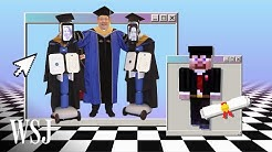 Robots and Minecraft: How the Class of 2020 Is Graduating | WSJ