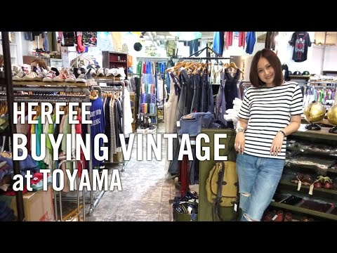 【HERFEE】Buying Vintage at Toyama|古着バイイング 富山の旅