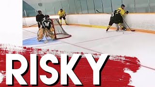 Risky - Hey Stripes! The Micd Up GoPro Hockey Refcam - Game 460