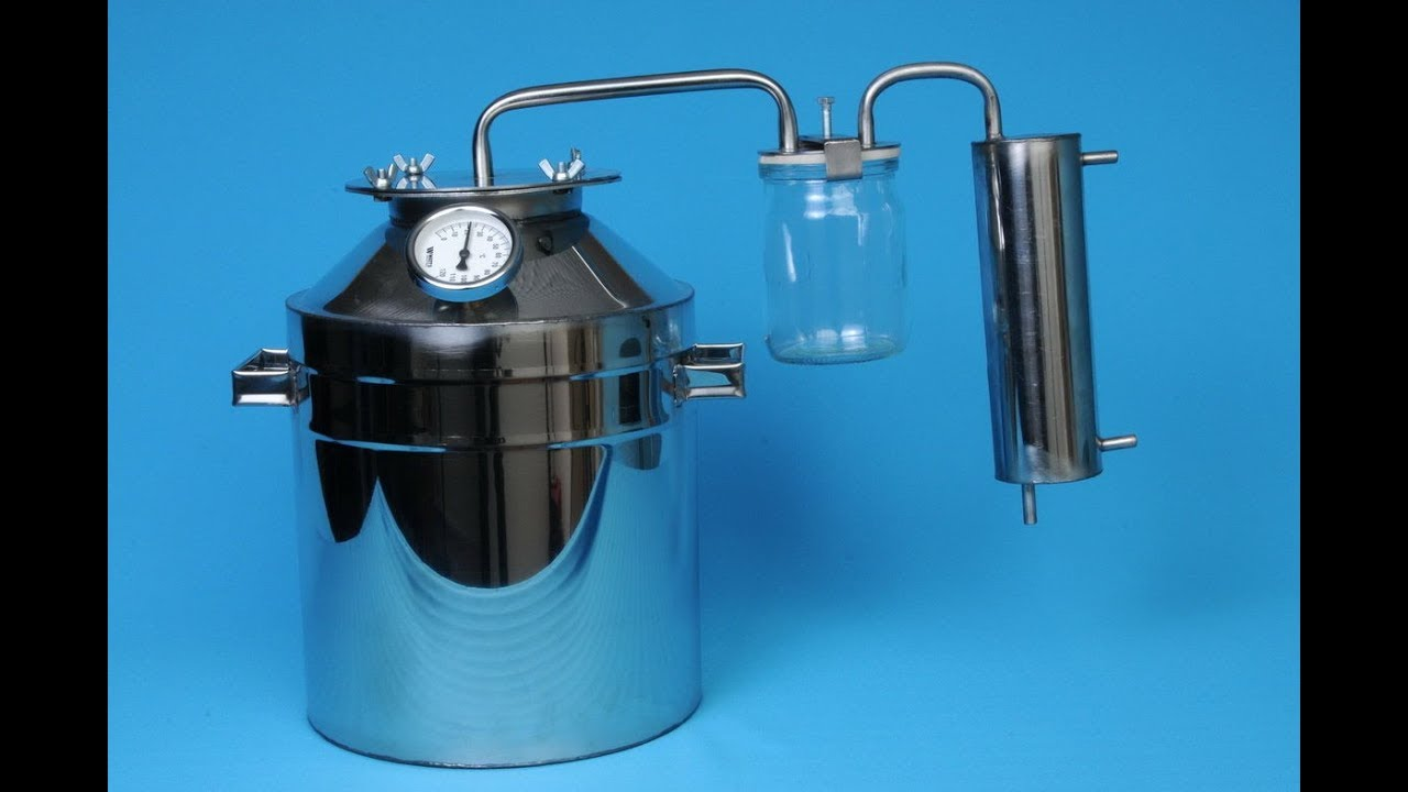 Как сделать портативный самогонный аппарат самогонный аппарат с дистиллятором и дефлегматором