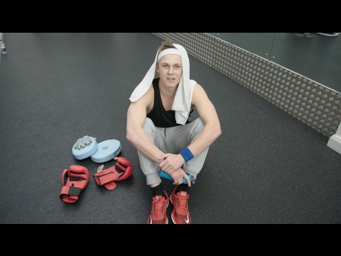 Caspar Lee Gets BRITs Fit | BRITs 2017 - YouTube