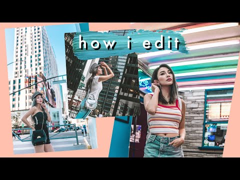 How I Edit My Instagram Photos - Using Atsuna Presets + Actions