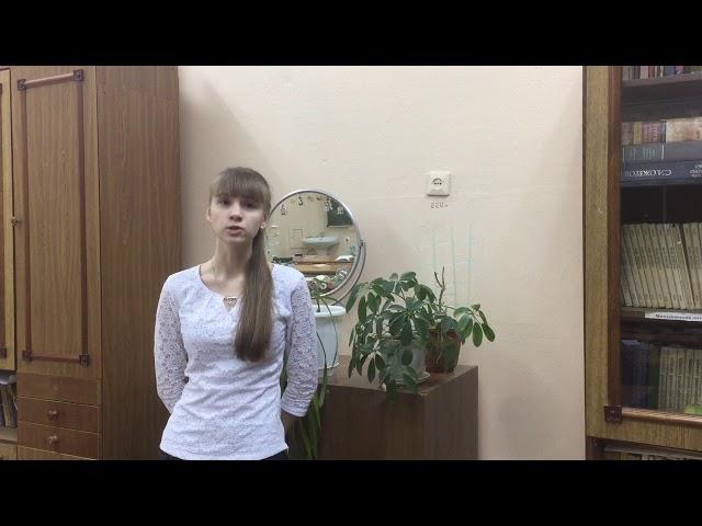 Изображение предпросмотра прочтения – СветланаГрачева читает произведение «Так окрылённо, так напевно» А.А.Блока