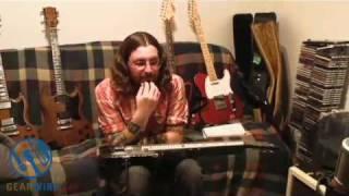 Gretsch Lap Steel: Tim Larson Plays His Lap Steel Guitar