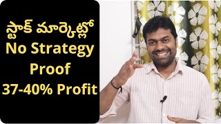 Stock Market Profit With No Strategy