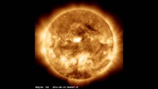 SOLAR ACTIVITY UPDATE: Earth Directed X-Flare/CME (Sep 11th, 2014).