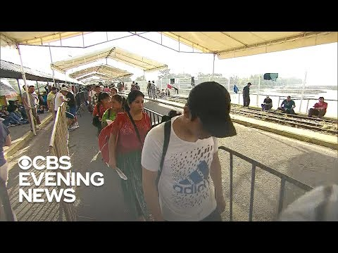 New migrant caravan waits in Mexico hoping to reach the U.S.