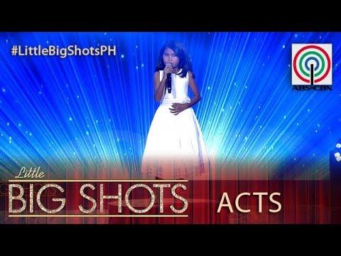 Little Big Shots Philippines: Bebet   9-year-old Viral Singing Kid