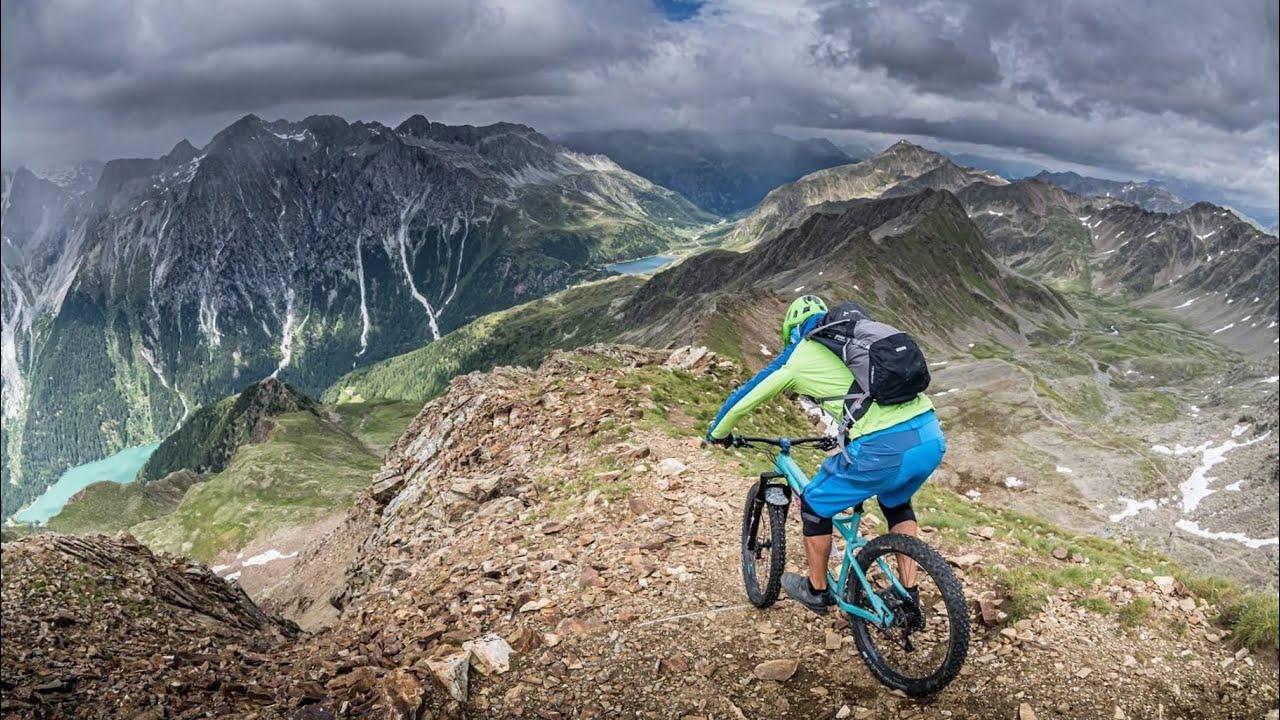 ROTE WAND (2818m) - Endloser Mountainbike Trail Villgratner Berge / Bike Urlaub 2020 / Antholz MTB