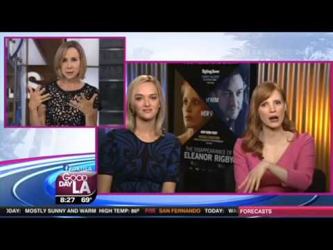 Jessica Chastain & Jess Weixler 'The Disappearance Of Eleanor Rigby' Los Angeles   FOX 11 LA