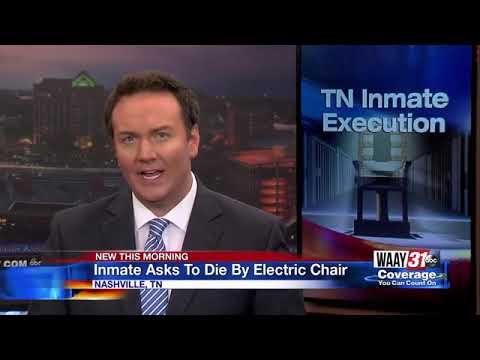Inmate Asks to Die By Electric Chair