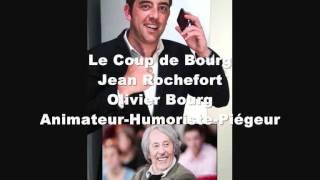 Prank : Fou rire de Jean Rochefort lors d'un canular d'Olivier Bourg