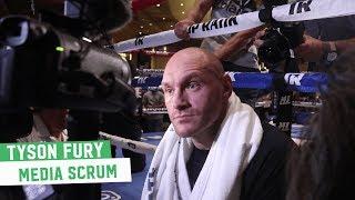 Tyson Fury's opinion on Joshua vs. Ruiz? Simple: