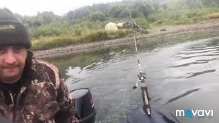 Рыбалка на томи , ловля окуня , тайменя , хариуса , щуки ! Часть 1