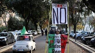 Итальянский референдум   за  и  против
