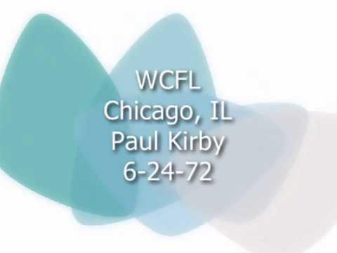 WCFL Chicago 6 24 72 Paul Kirby